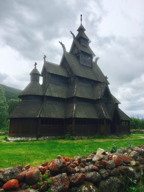 Old Church in Gol, Norway