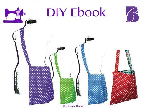 Ebook Tutorial and Pattern Reversible Bag Anne