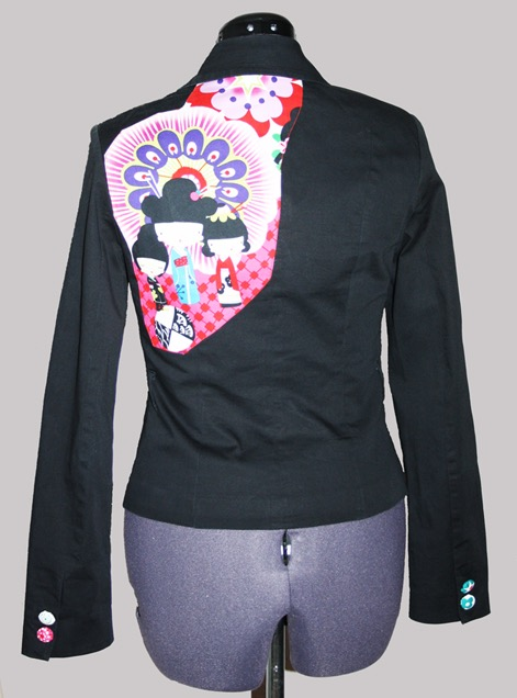 Jacket wit Alexander Henry Fabrics