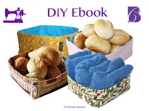 DIY Ebook Tutorial Fabric Basket
