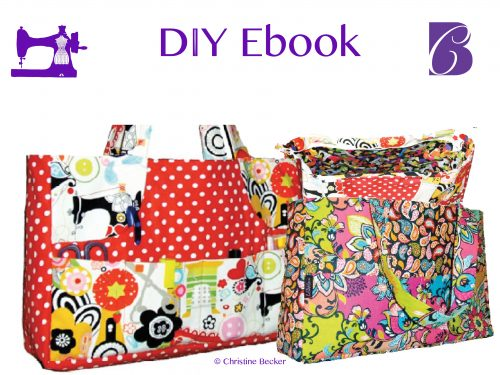 DIY Ebook Bag Jenny