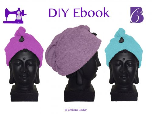 DIY Ebook Hair Dry Towel