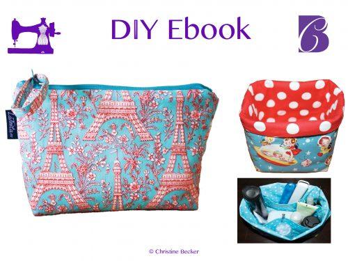 DIY Ebook Cosmetic Bag