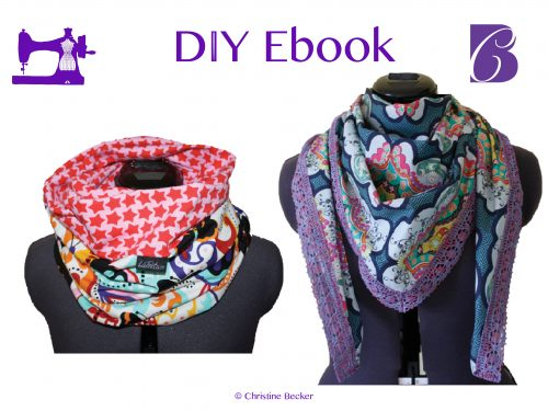 Ebook Infinity Scarf, Loop,Triangle Scarf, reversible