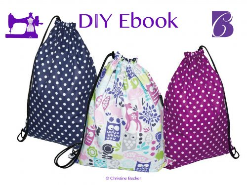 DIY Ebook Tutorial and Pattern Gym Sack