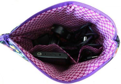 Cosmetic Bag, Alexander Henry Fabrics