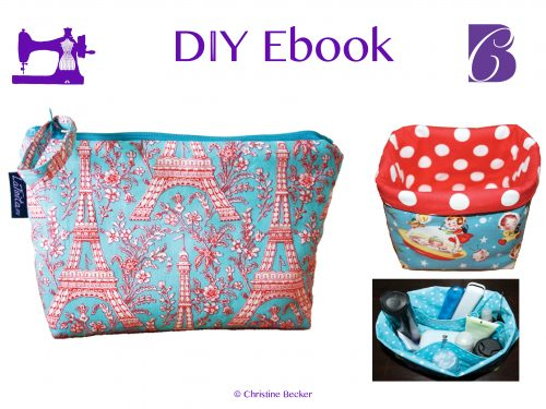 DIY Ebook Cosmetic Bag