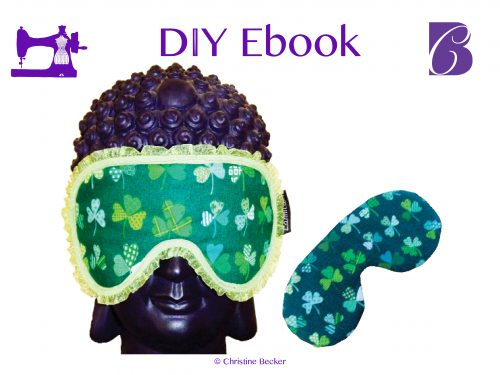 DIY E-Book Pattern and Tutorial Eye Mask