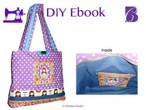 Ebook tutorial and pattern Shopper
