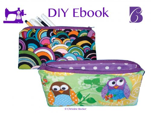 DIY E-Book Tutorial Pencil Case / Cosmetic Bag