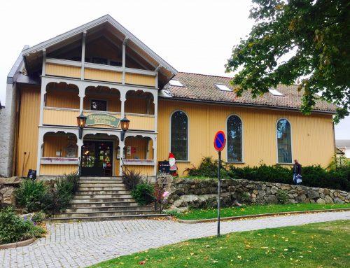 Julehus in Drøbak, Norway