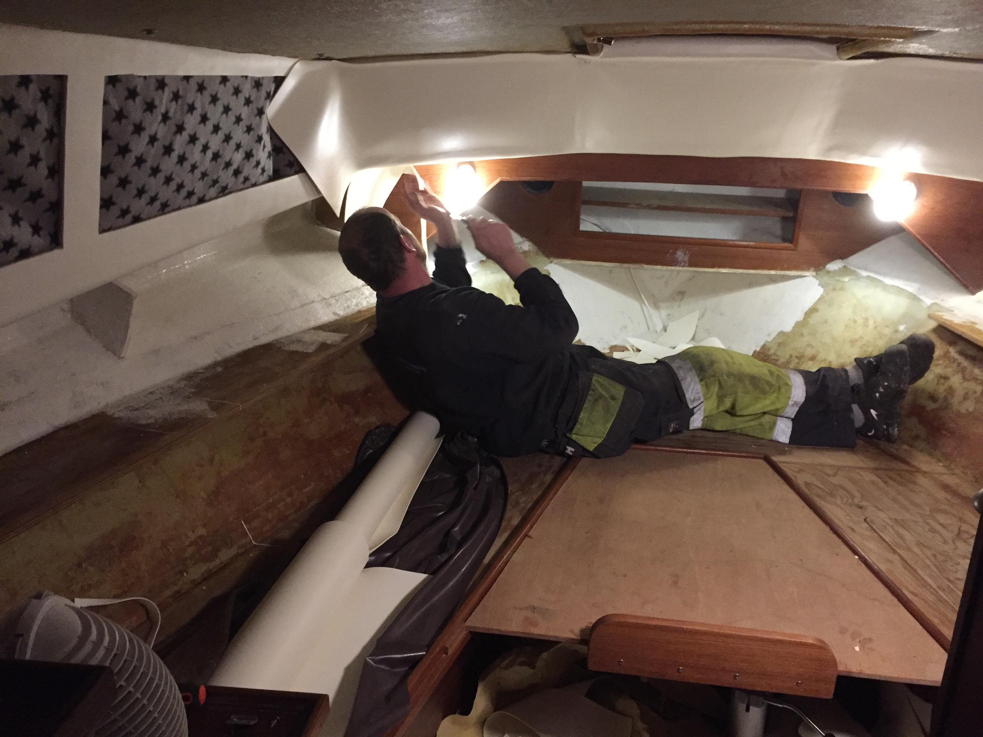 Boat renovation